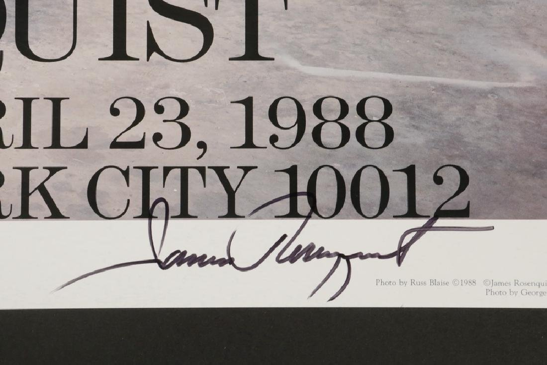 (5) SIGNED EXHIBITION/EVENT POSTERS - 6