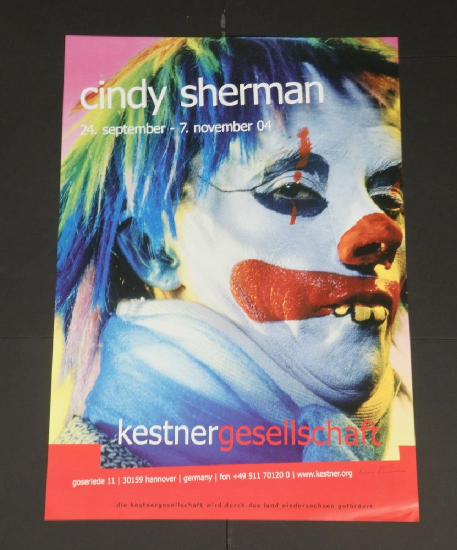 (6) SIGNED EXHIBITION POSTERS - ROSENQUIST, SHERMAN, - 5