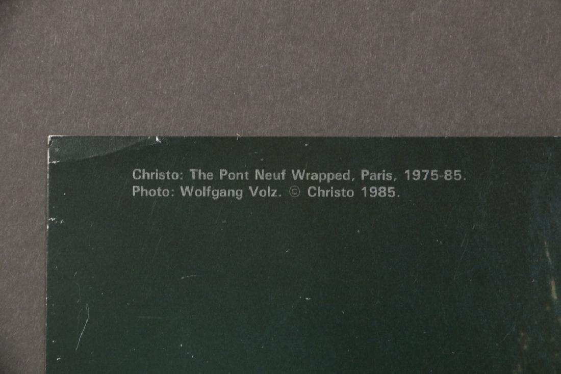 CHRISTO VLADIMIROV JAVACHEFF (FRANCE/NY, 1935 - ) & - 8