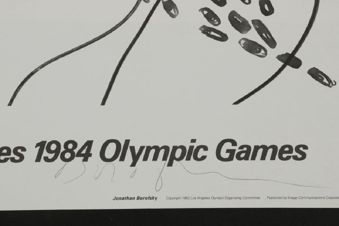 (7) SIGNED EVENT POSTERS 1984 LOS ANGELES OLYMPIC - 6