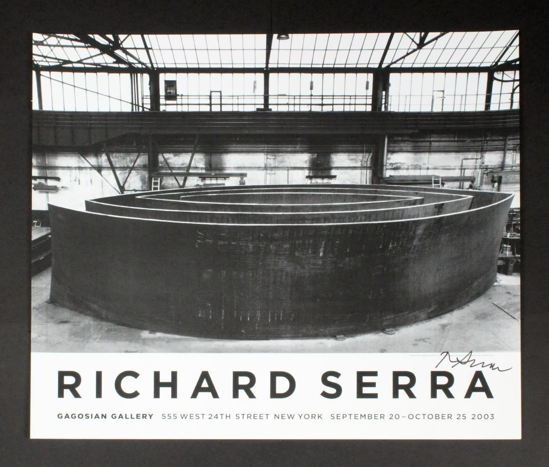 RICHARD SERRA (NY, 1939 - )