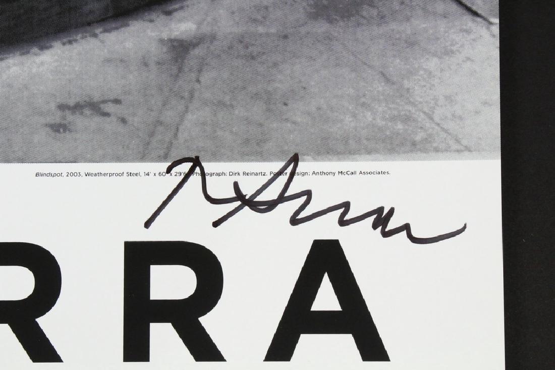 RICHARD SERRA (NY, 1939 - ) - 2