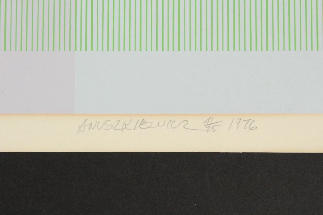 RICHARD ANUSZKIEWICZ (NJ, 1930 - ) - 2