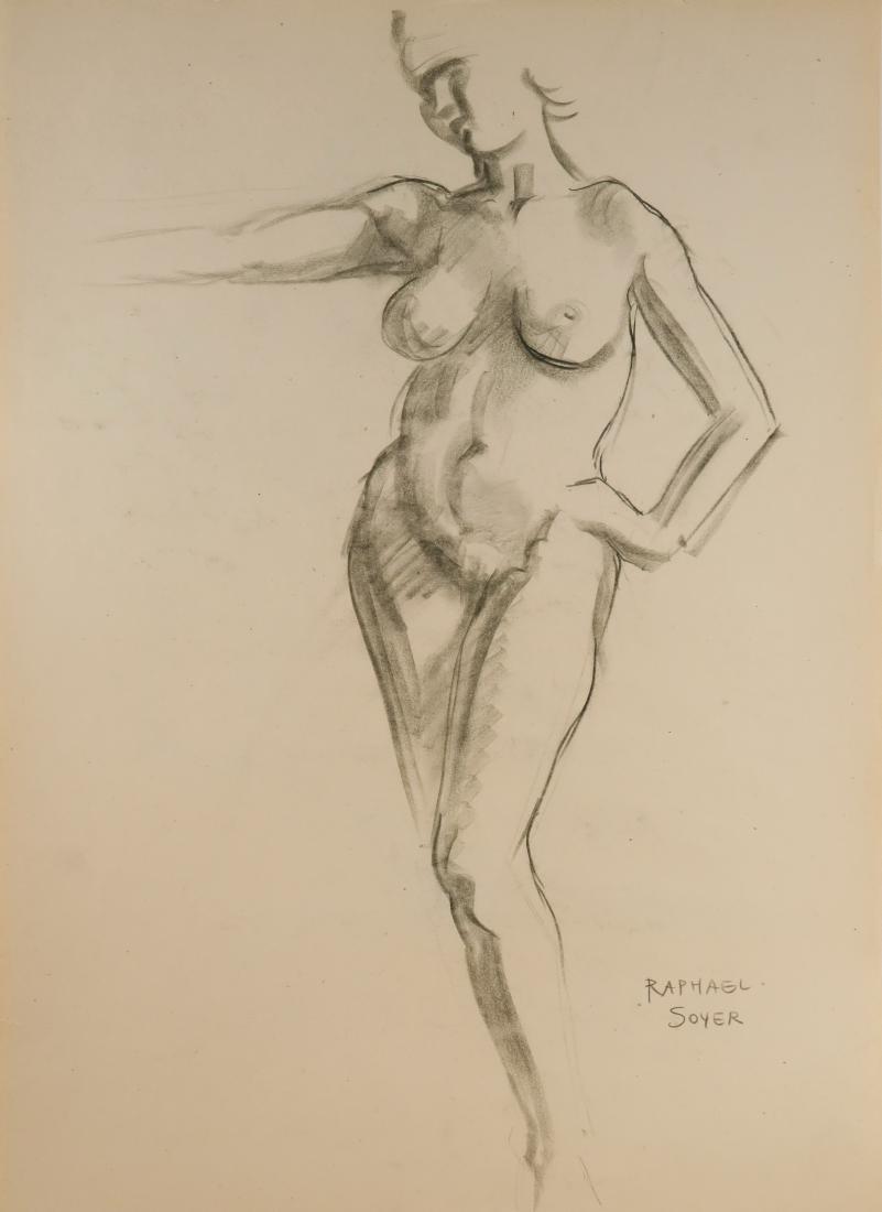 RAPHAEL SOYER (NY, 1899-1987)