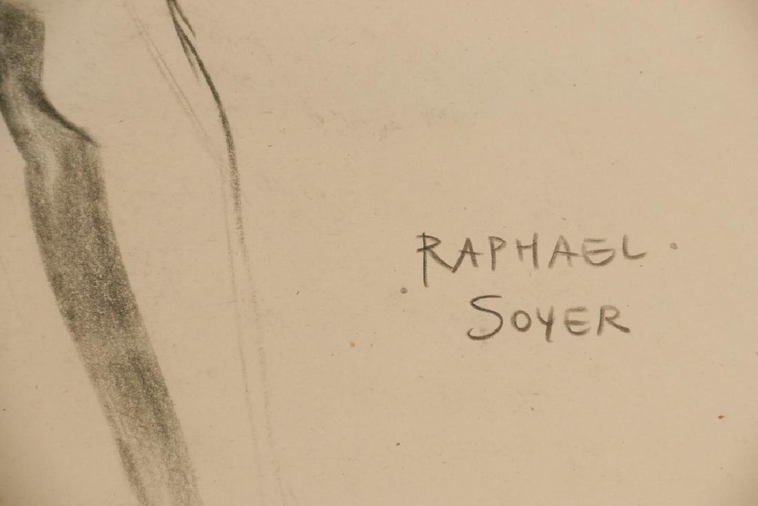 RAPHAEL SOYER (NY, 1899-1987) - 2