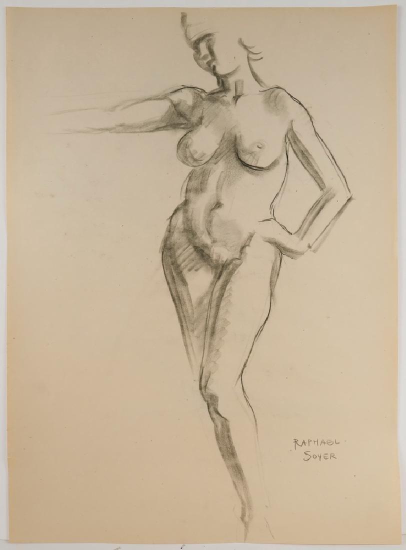 RAPHAEL SOYER (NY, 1899-1987) - 3