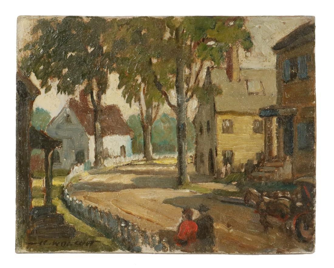 HAROLD WOLCOTT (NY, 1898-1977)
