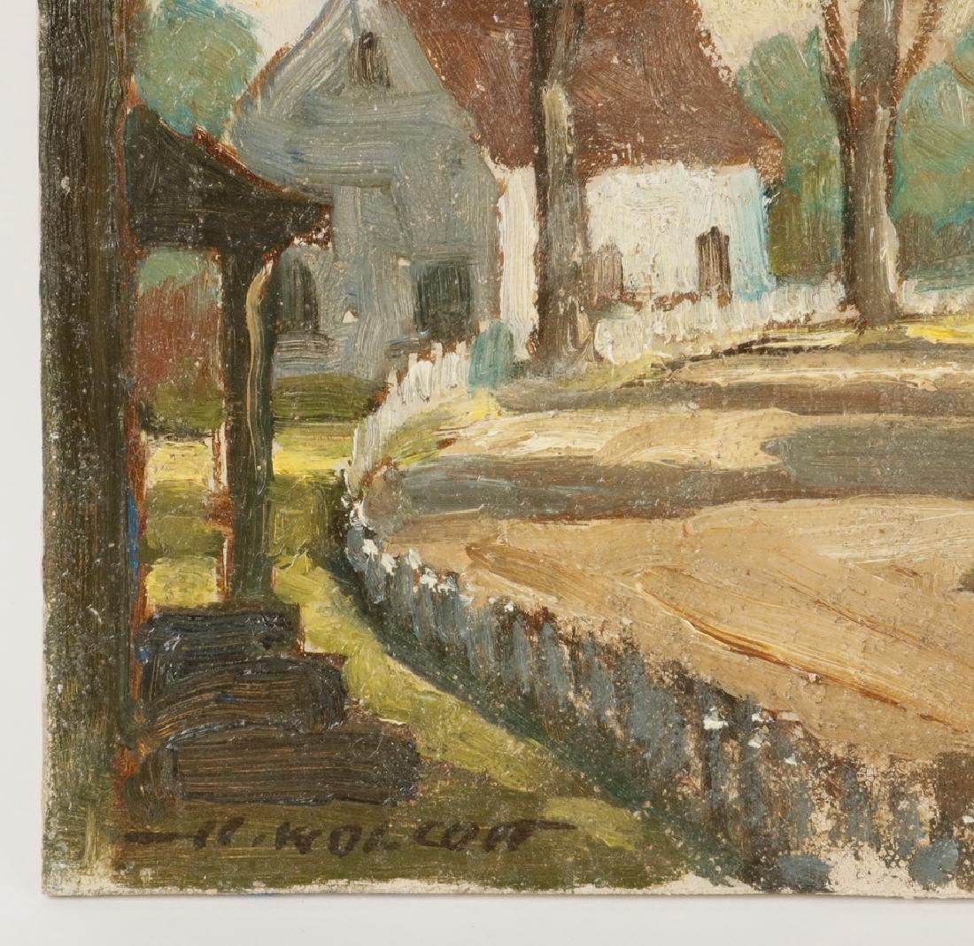 HAROLD WOLCOTT (NY, 1898-1977) - 3