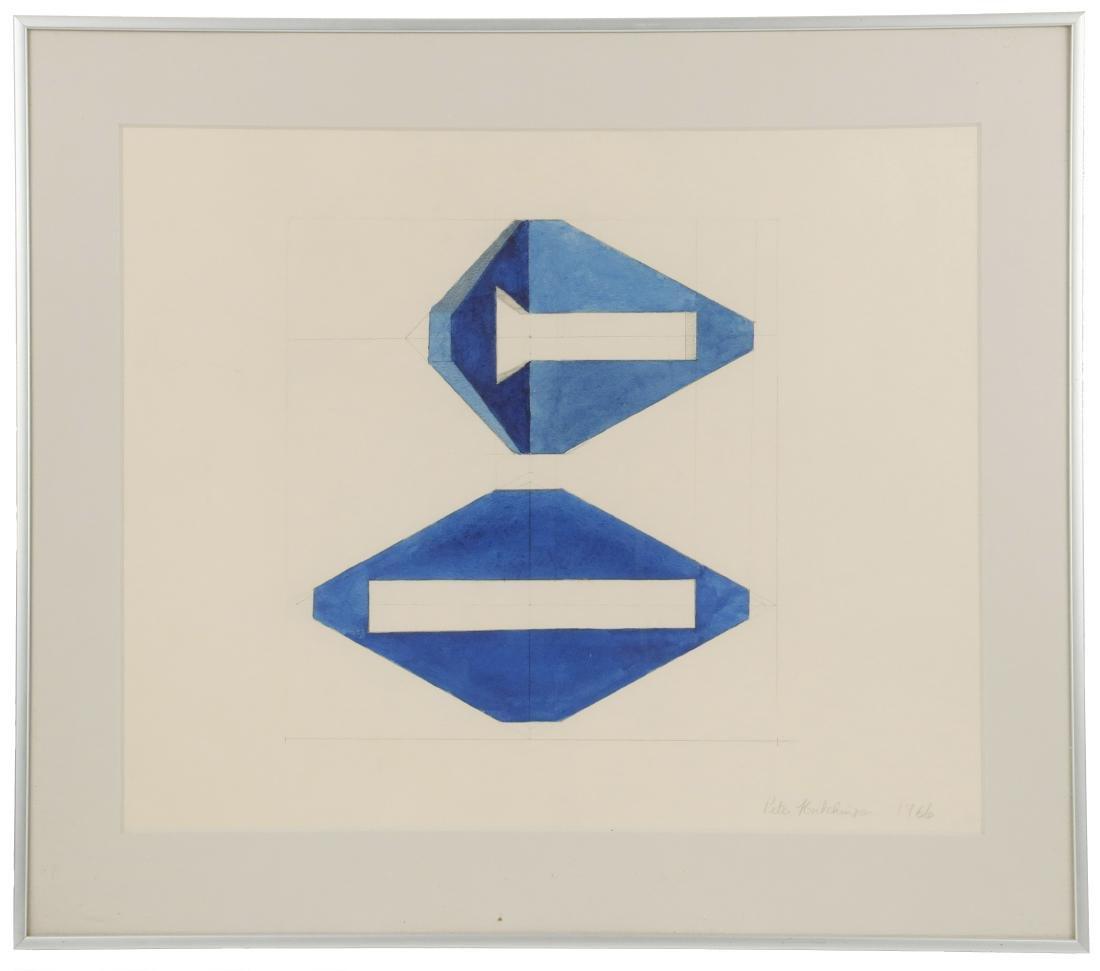 PETER HUTCHINSON (NY/MA/UK, 1930 - )
