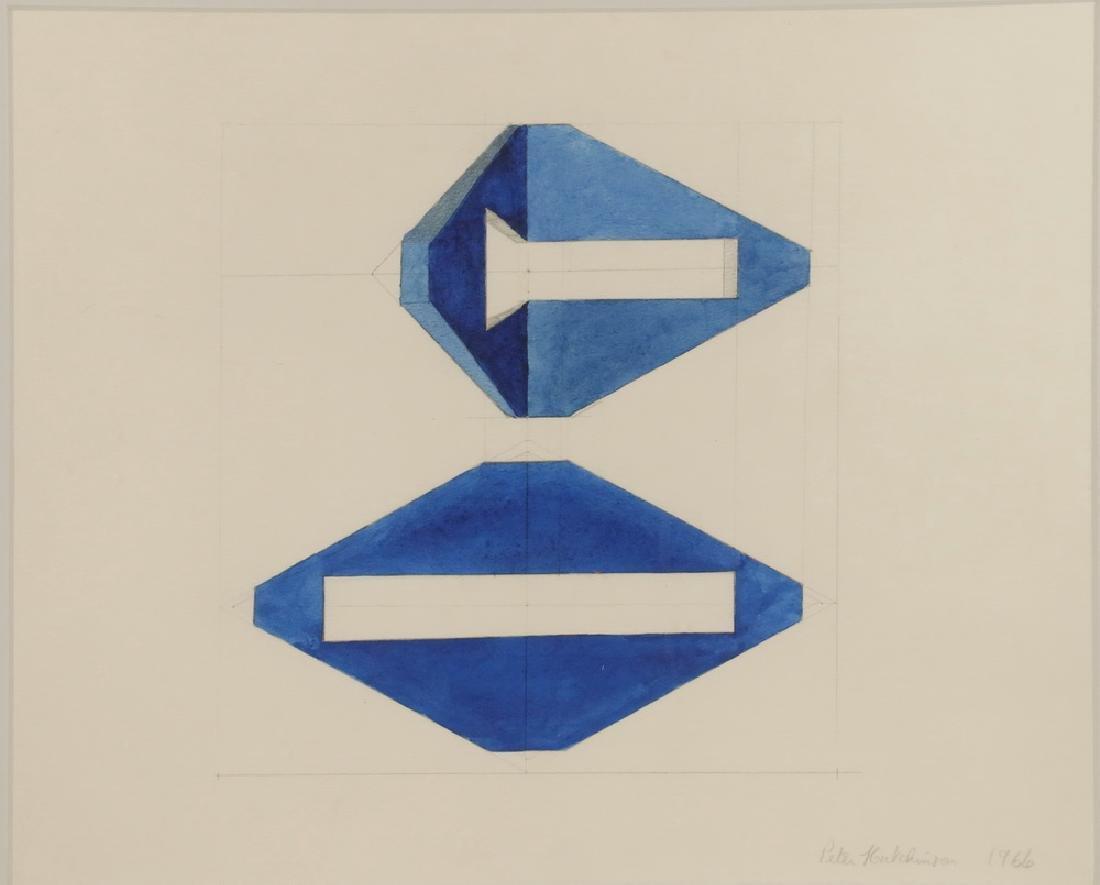 PETER HUTCHINSON (NY/MA/UK, 1930 - ) - 2