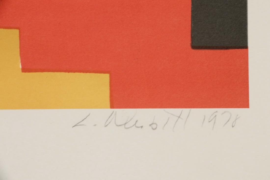 (2) PRINTS BY KNOX MARTIN (COLUMBIA/NY, 1923 - ) & - 2
