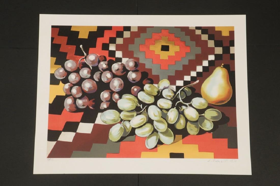 (2) PRINTS BY KNOX MARTIN (COLUMBIA/NY, 1923 - ) & - 4