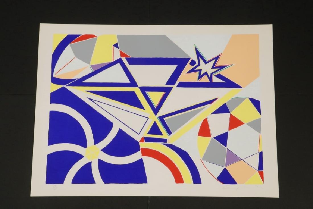 (2) PRINTS BY KNOX MARTIN (COLUMBIA/NY, 1923 - ) & - 7