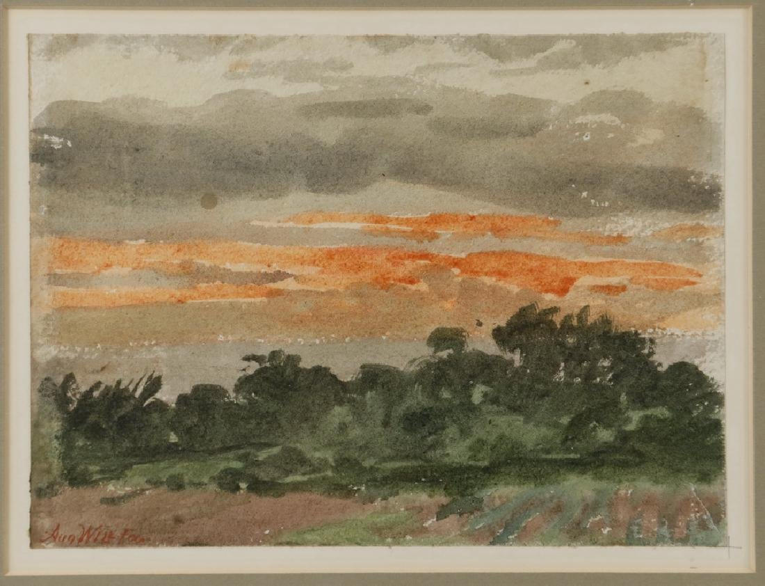 AUGUST WILL (NJ/GERMANY, 1834-1910) - 2