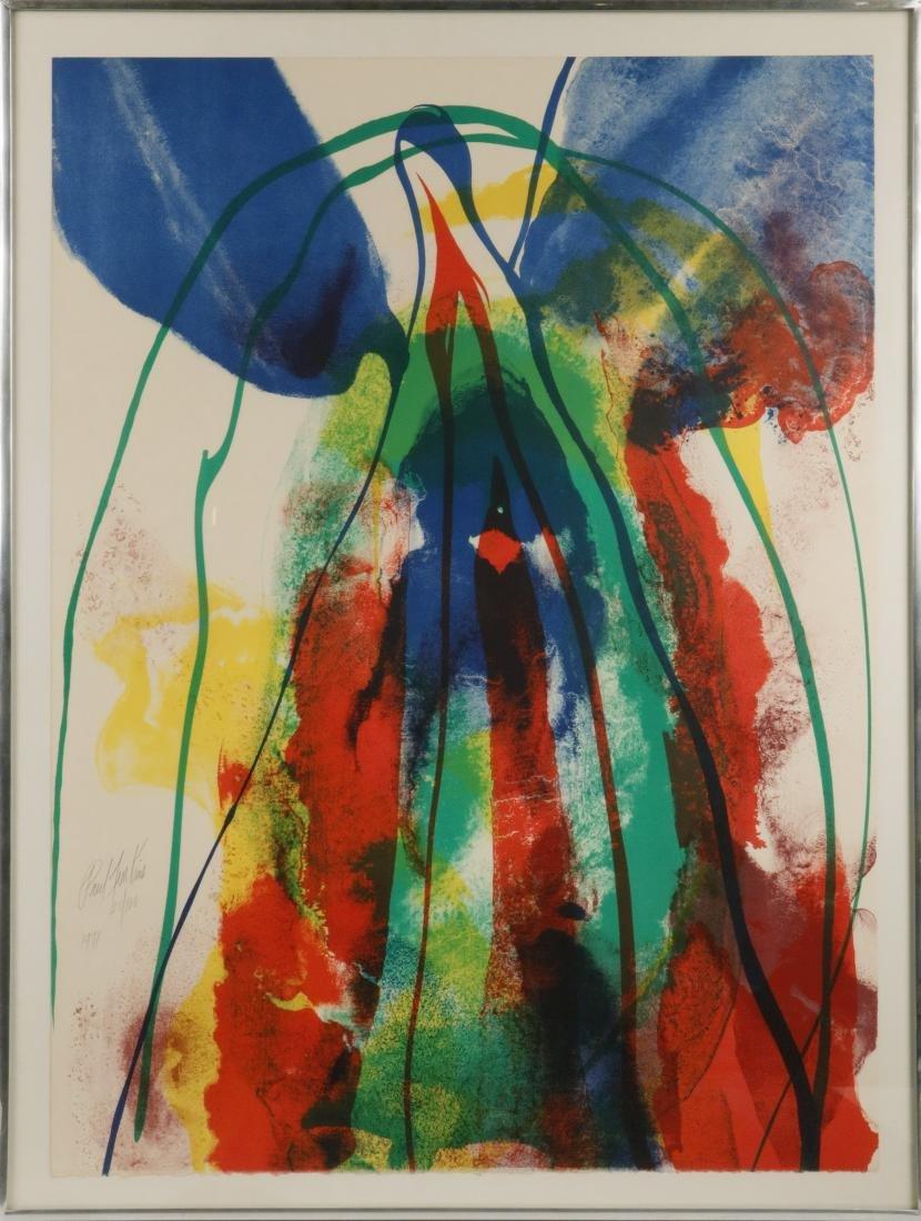 PAUL JENKINS (NY/KS/MO/FRANCE, (1923-2012)