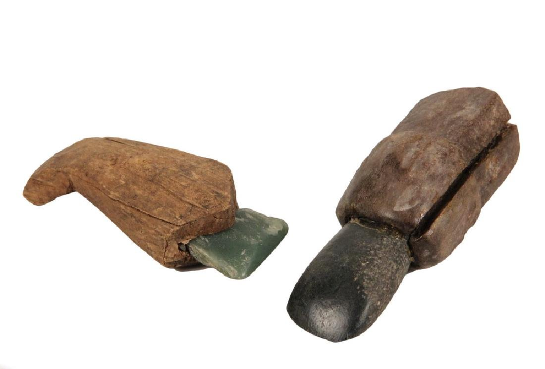 (2) EARLY INUIT TOOLS
