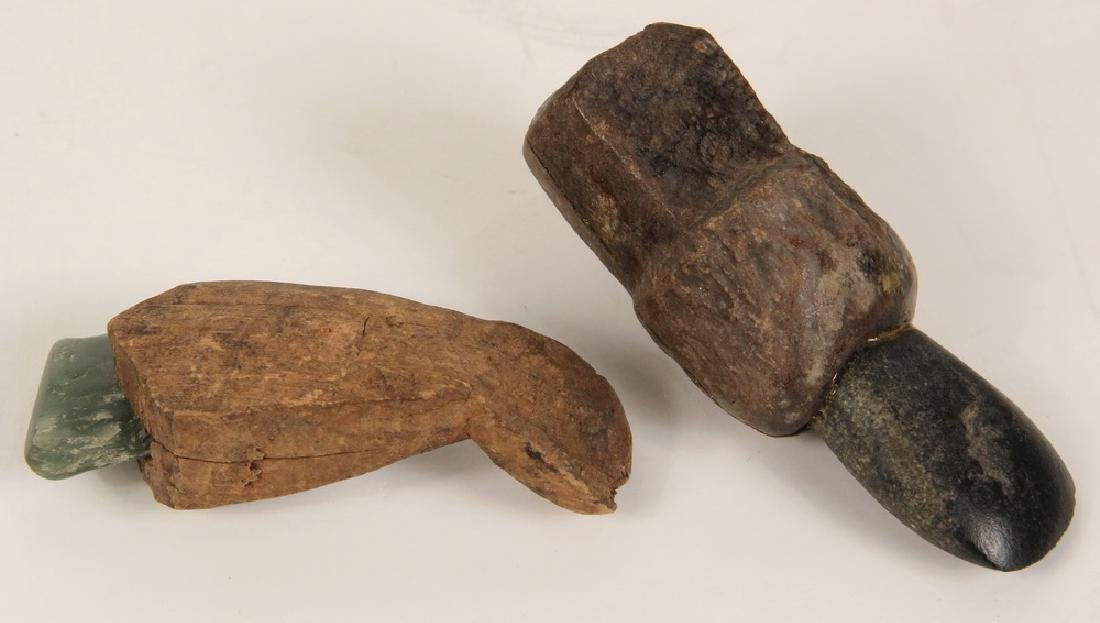 (2) EARLY INUIT TOOLS - 2