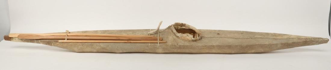 EARLY INUIT MODEL KAYAK - 2