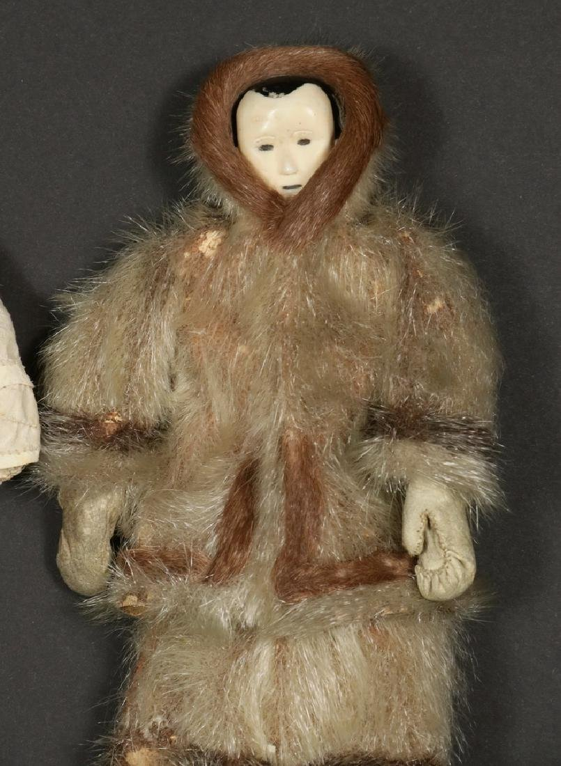 (2) EARLY INUIT DOLLS - 3