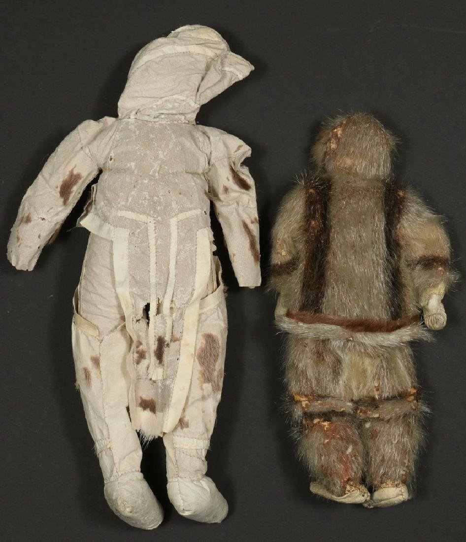 (2) EARLY INUIT DOLLS - 4