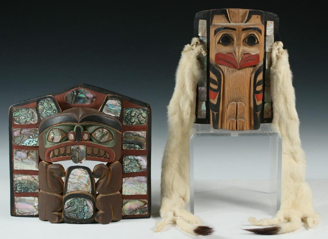 (2) NATIVE AMERICAN CARVINGS