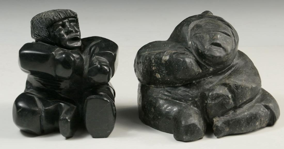 (2) INUIT SCULPTURES