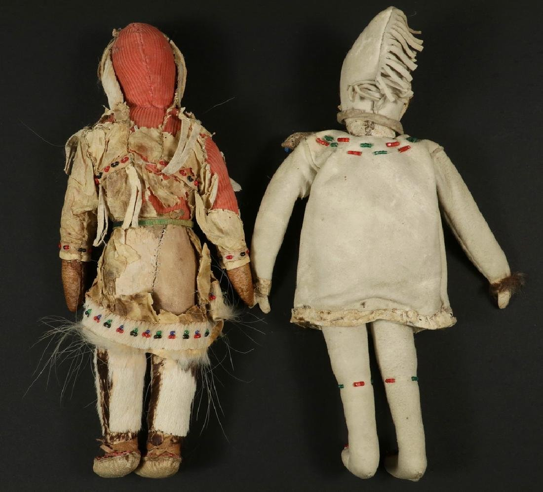 (2) EARLY INUIT DOLLS - 2
