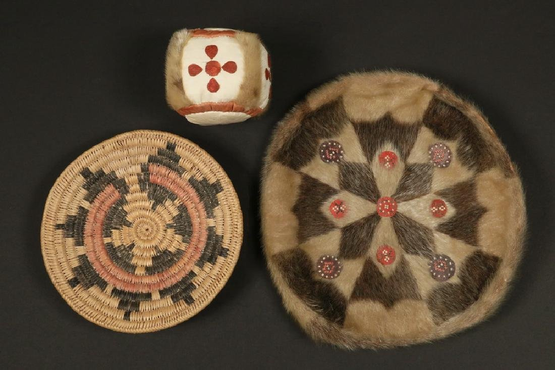 (3) INUIT CRAFT OBJECTS