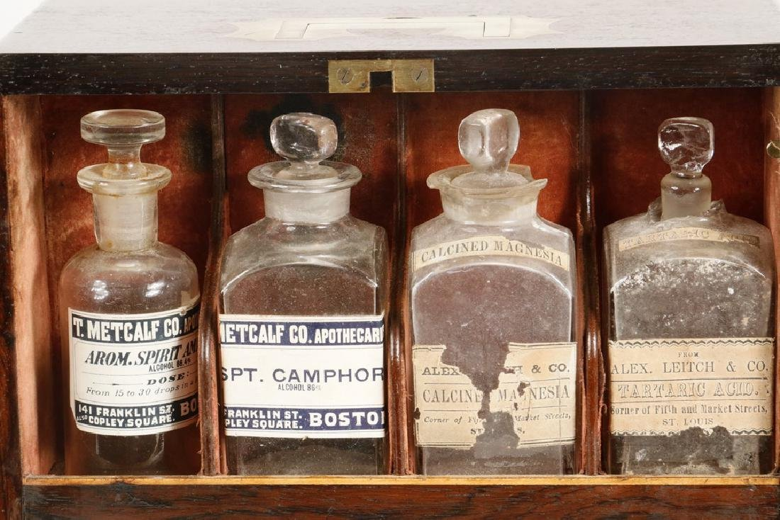 TRAVELING APOTHECARY CASE - 2