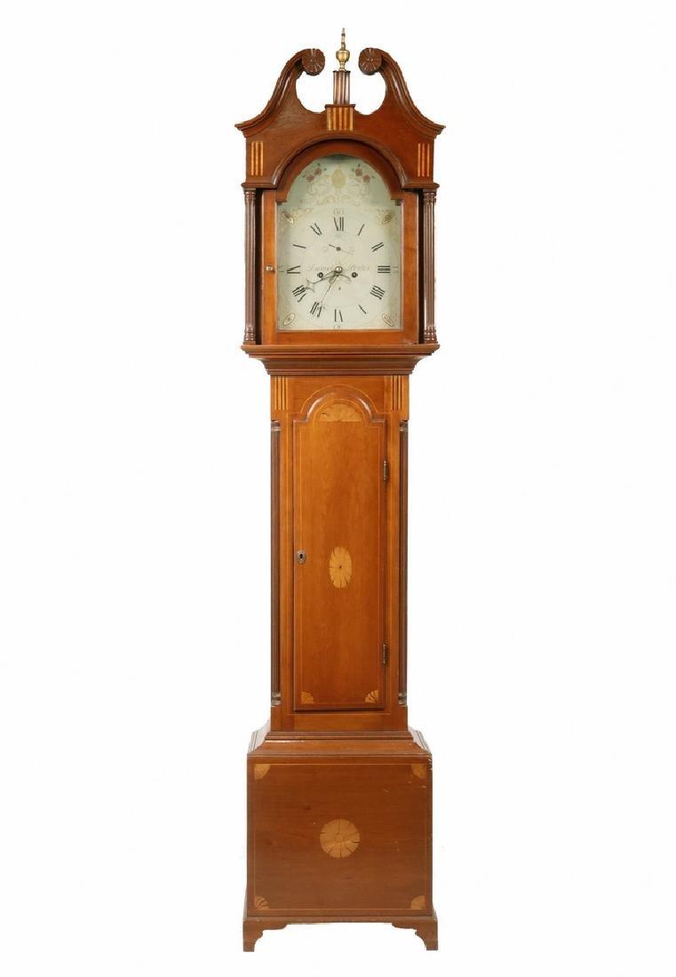 TALL CLOCK BY DANIEL PORTER OF WILLIAMSTOWN, MA.