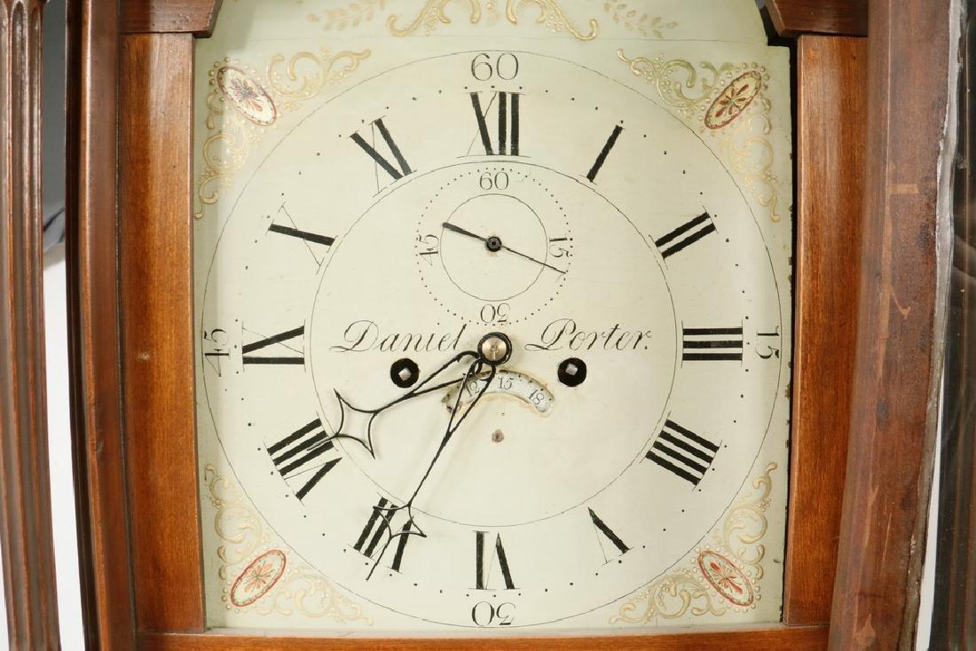 TALL CLOCK BY DANIEL PORTER OF WILLIAMSTOWN, MA. - 2