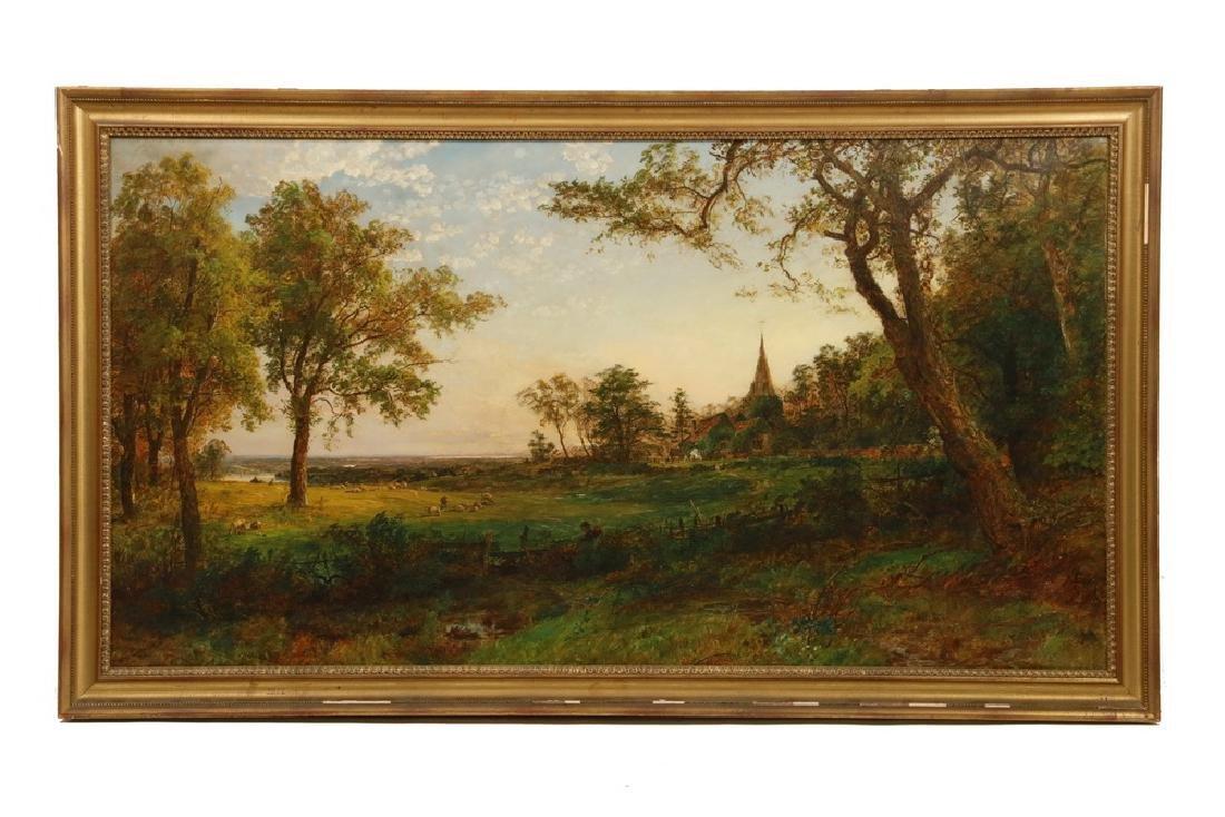 JASPER FRANCIS CROPSEY (NY, 1823-1900)