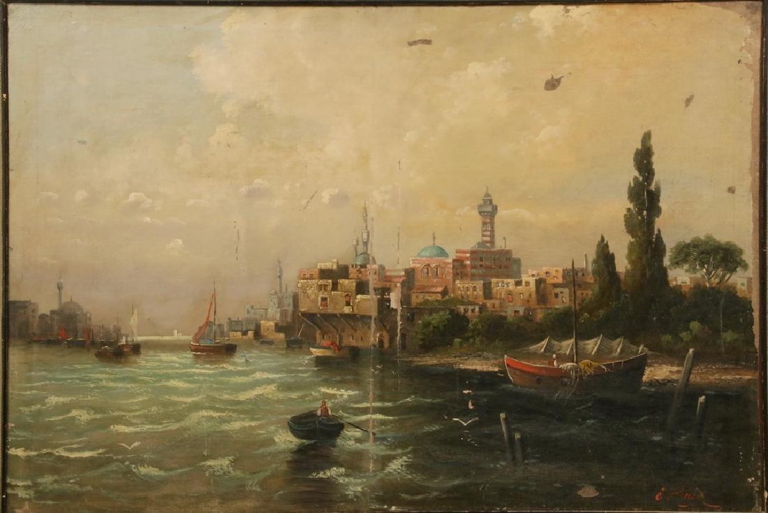 J. HERON (19TH C.) - 2