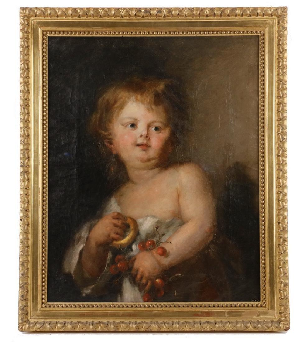 18TH C. ITALIAN PORTRAIT