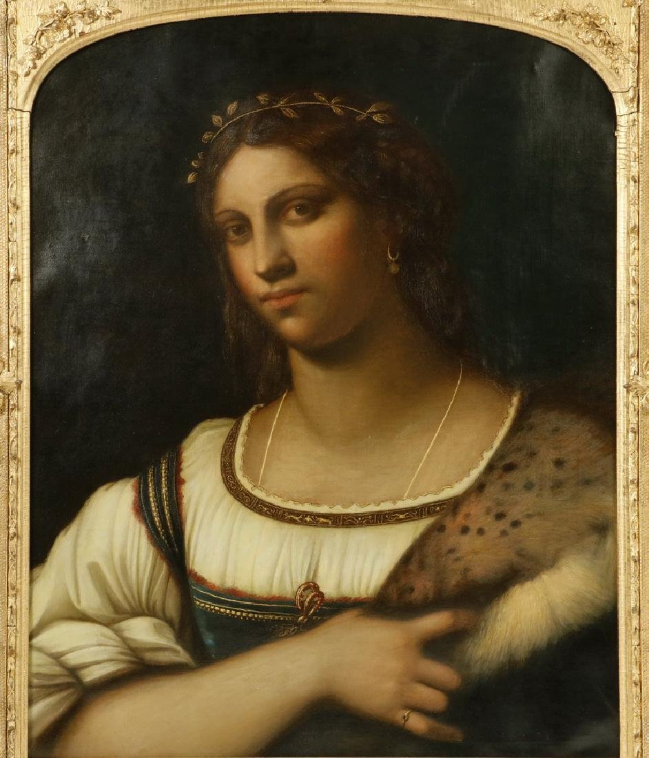EARLY CONTINENTAL PORTRAIT - 2