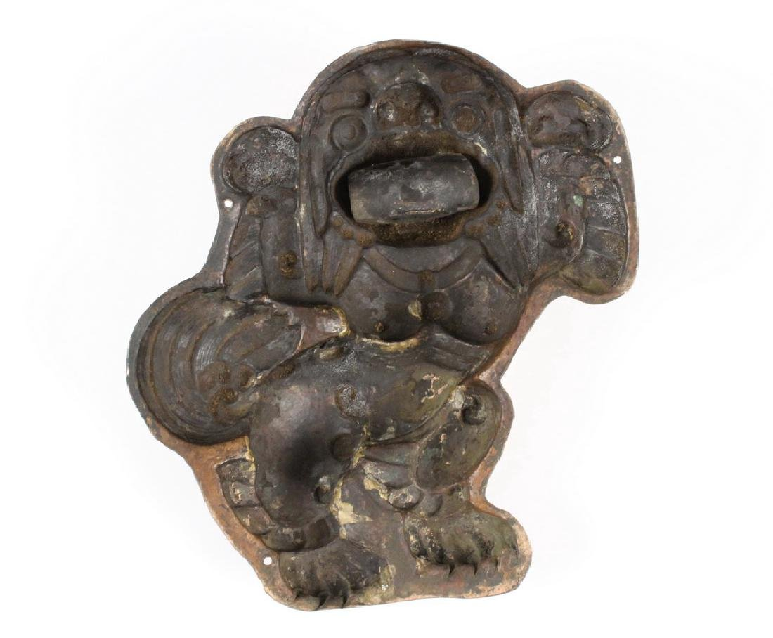 EARLY CHINESE TEMPLE PLAQUE - 2