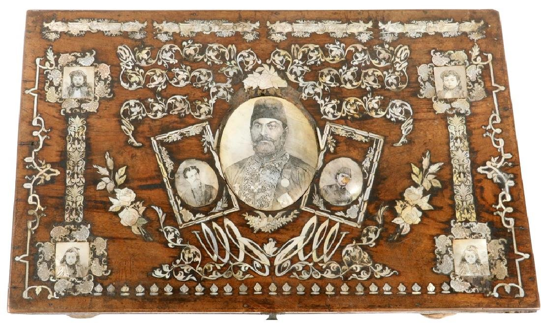 RARE 19TH C. TURKISH QU-URAN BOX