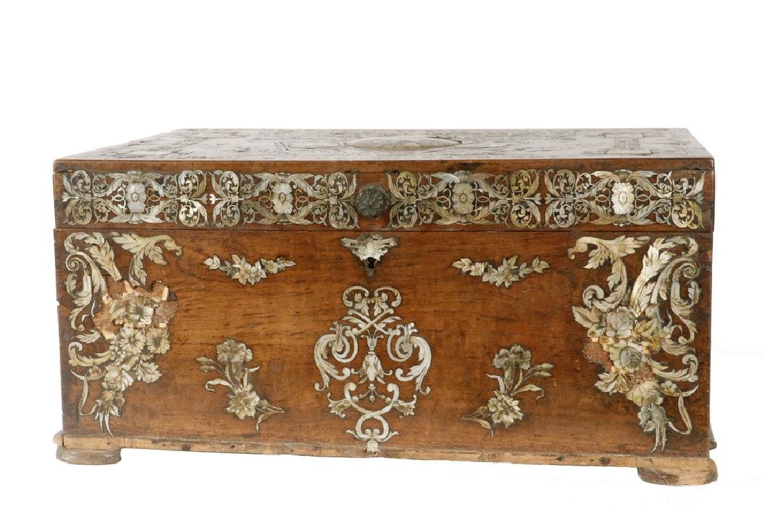 RARE 19TH C. TURKISH QU-URAN BOX - 2