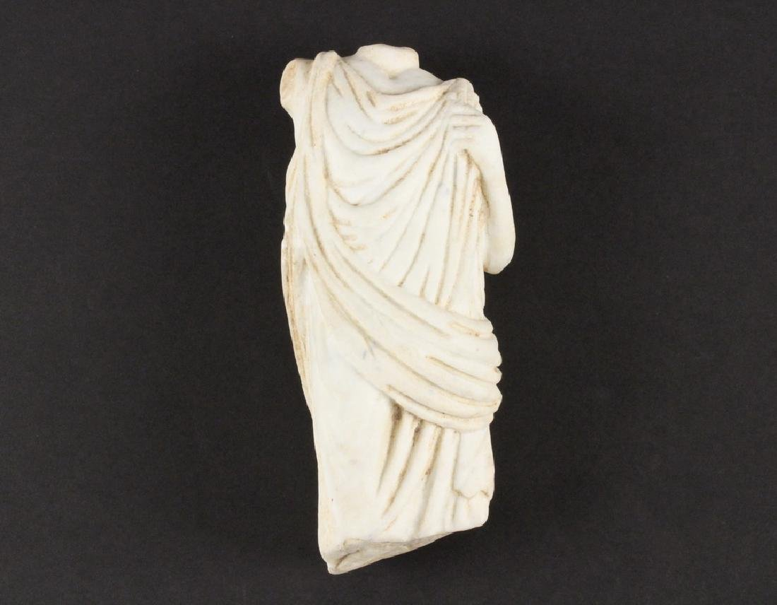 ANCIENT MARBLE SCULPTURE FRAGMENT