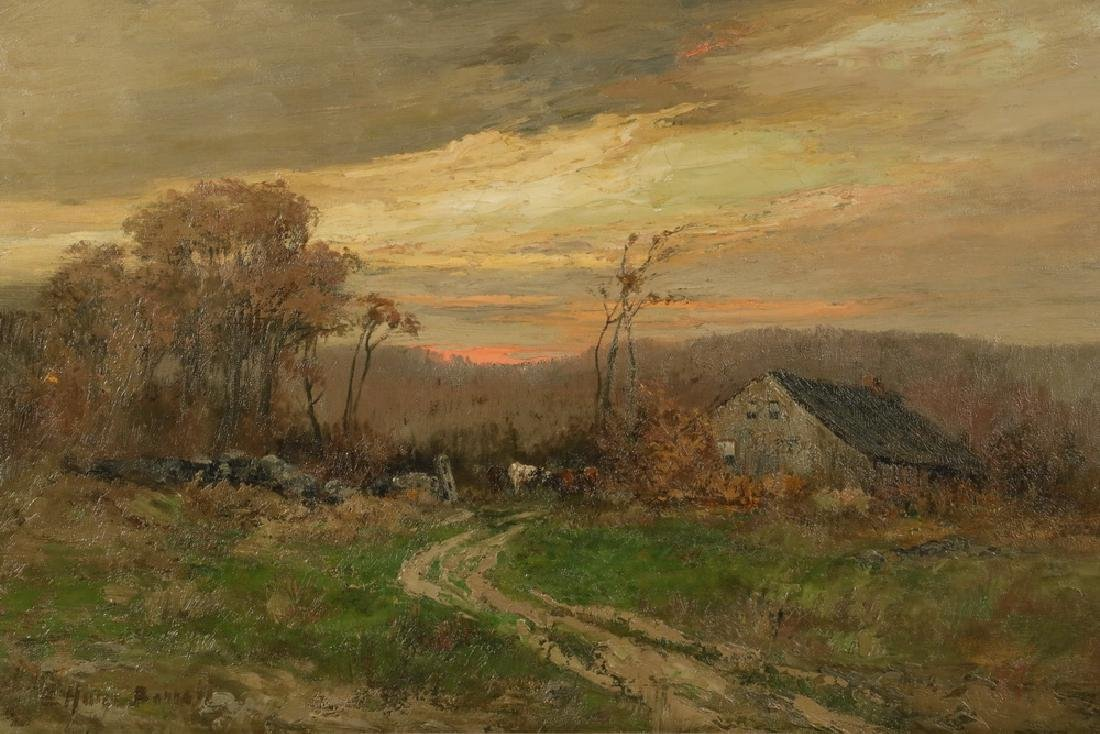 ELIZABETH HUNT BARRETT (NY, 1863-1955) - 2
