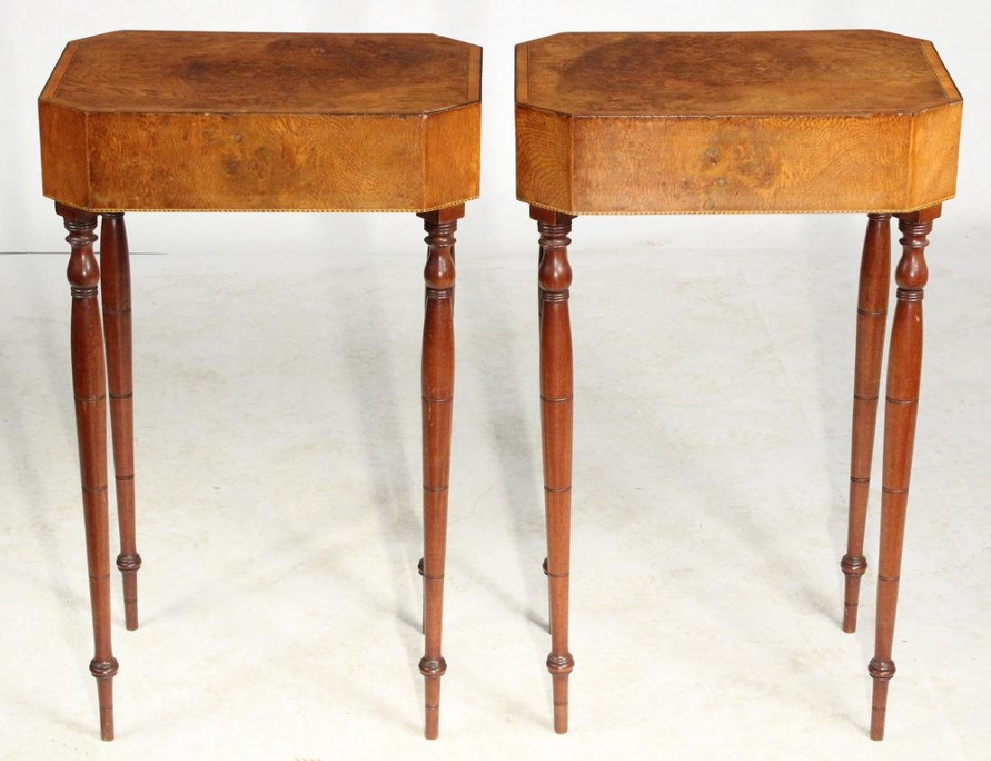PAIR OF LAMP STANDS - 5