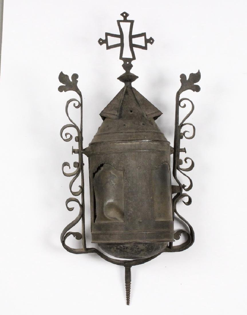 17TH C. SPANISH COLONIAL PROCESSIONAL LANTERN - 2