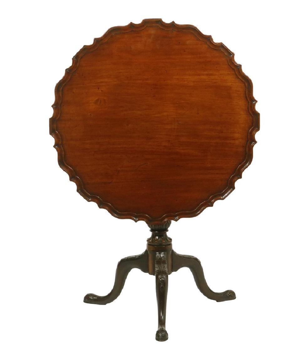 TILT-TOP PIECRUST TABLE