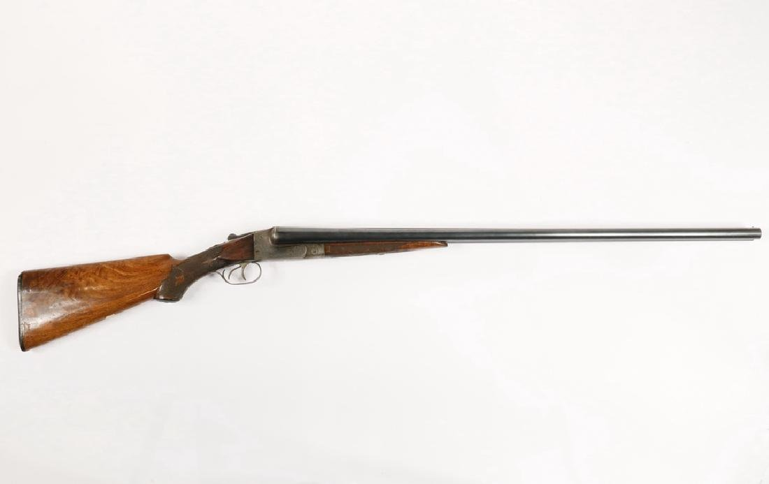 ITHACA 12 GA. DOUBLE BARREL SHOTGUN