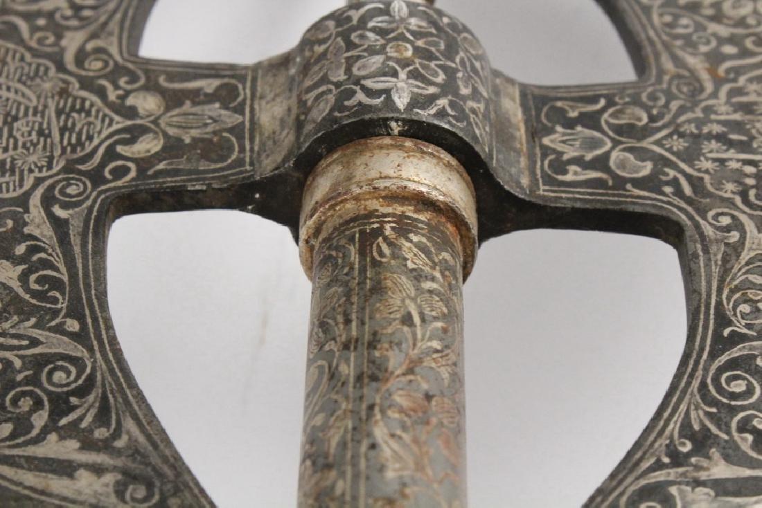 INDO-PERSIAN CEREMONIAL AXE - 4