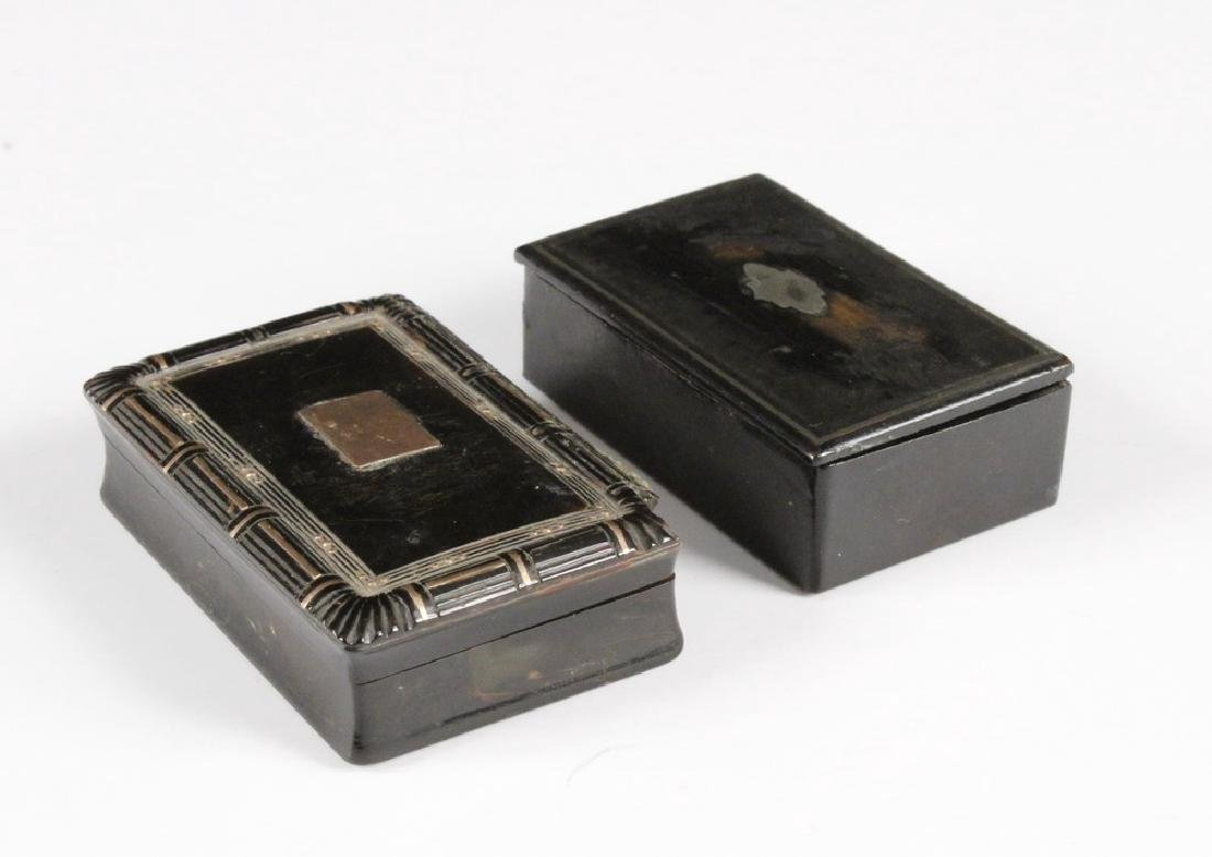 (2) SNUFF BOXES - 2