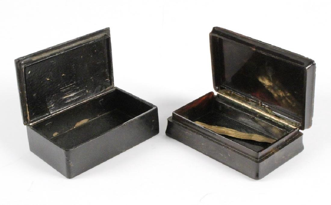 (2) SNUFF BOXES - 3