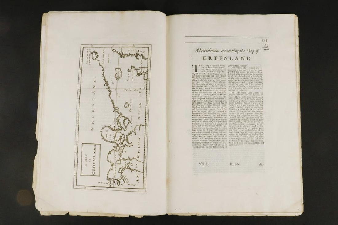 FRAGMENT OF 17TH C. EXPLORER'S BOOK WITH MAP & - 3
