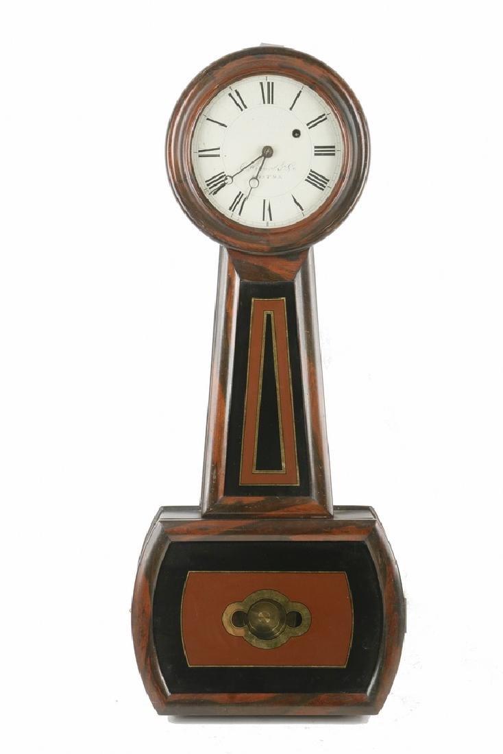 E. HOWARD BANJO CLOCK