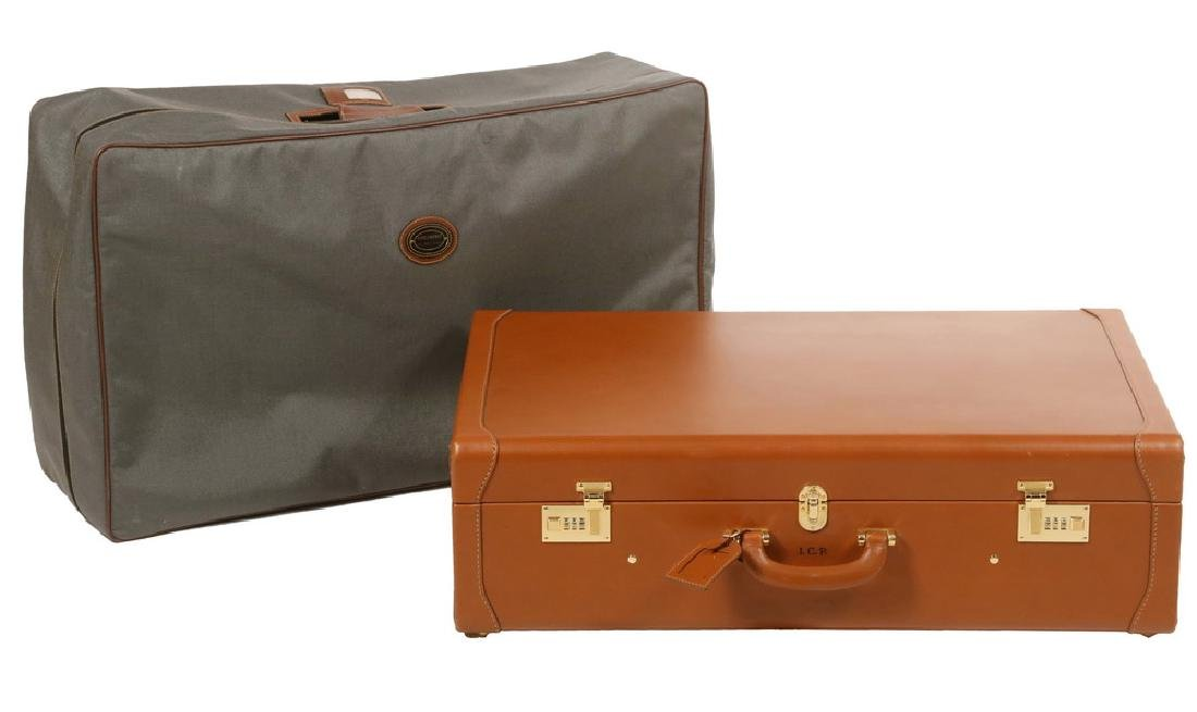 COLOMBO LEATHER SUITCASE